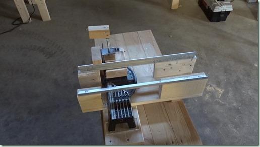 丸鋸スライド台改良